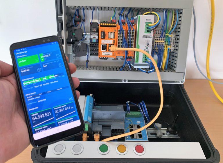 control IoT Gateway zur Erfassung von Betriebsdaten