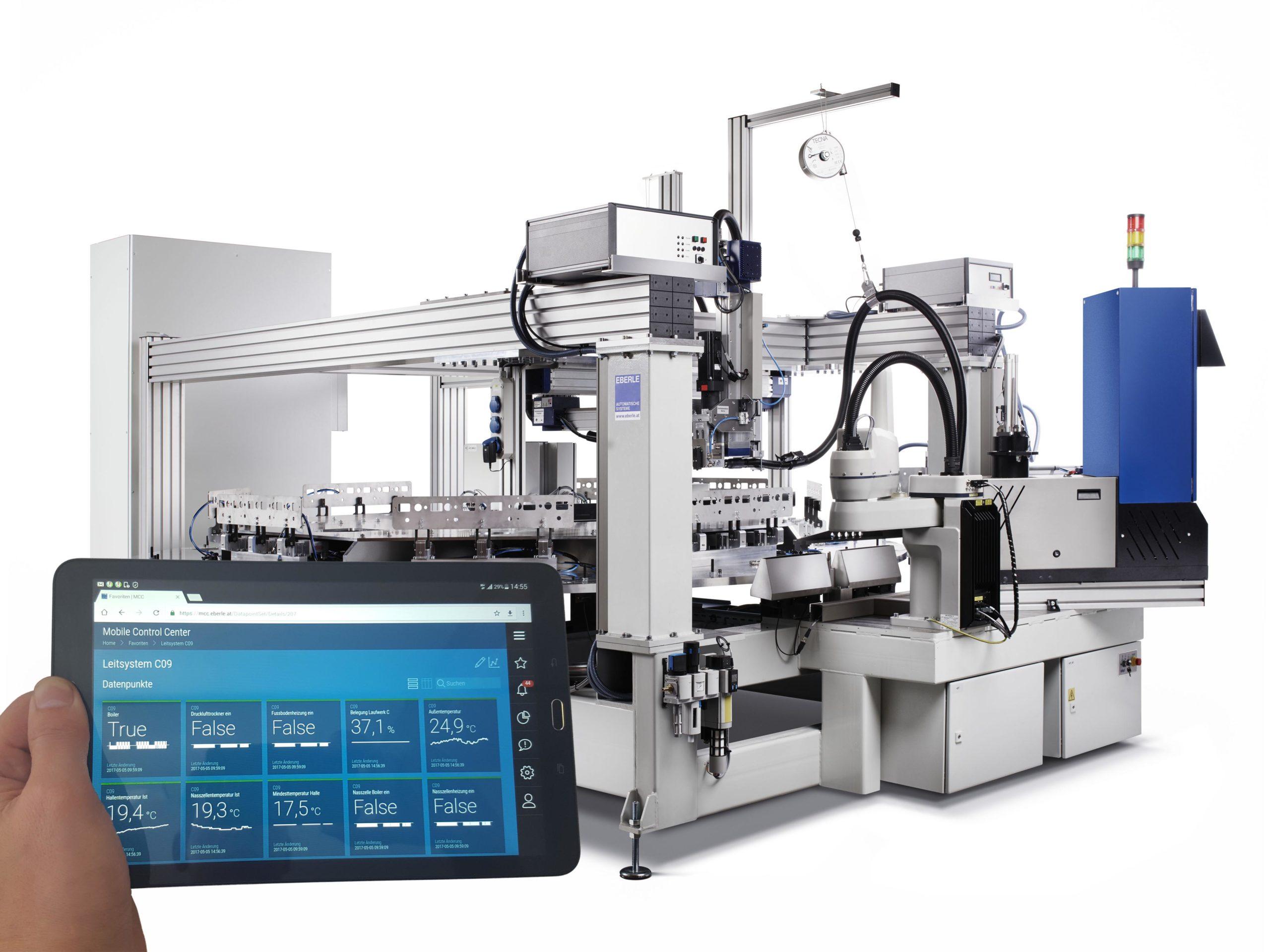 control IIoT Plattform Betriebsdatenerfassung Produktion